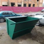 мусорный контейнер 2 куба 4