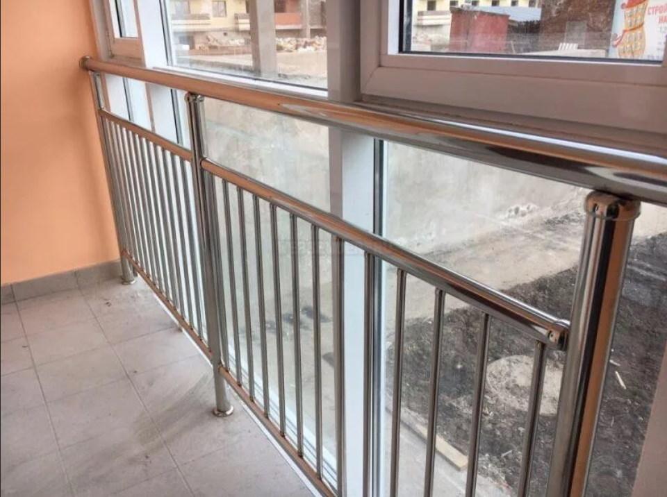 ограждения балкона из нержавейки 4