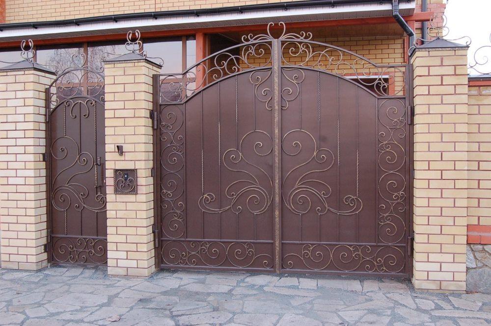 распашные ворота Калининград